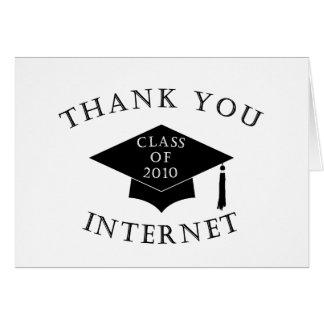 Thank You Internet Card
