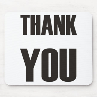Thank You - Ipoo Products & Designs! Mouse Pad