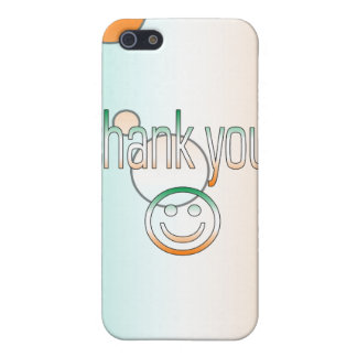 Thank You! Ireland Flag Colors Pop Art iPhone SE/5/5s Cover