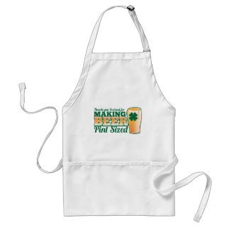 Thank you Ireland for making beer pint sized from Aprons