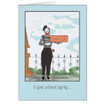 Thank You-It Goes Without Saying Greeting Cards