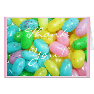 Thank You Jellybeans greeting card
