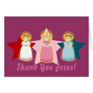 Thank You Jesus!-Customize Card