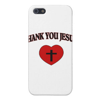 Thank You Jesus (Heart) iPhone 5 Cover