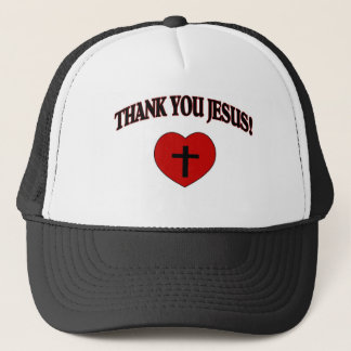 Thank You Jesus (Heart) Trucker Hat