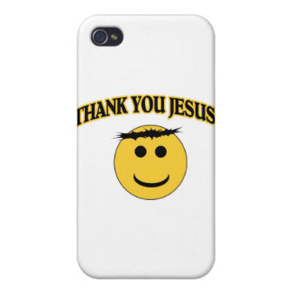 Thank You Jesus iPhone 4/4S Cases
