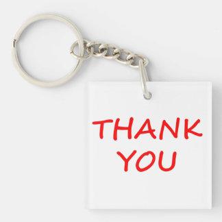 Thank You Acrylic Key Chain