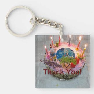 Thank You Keychain for Birthdays
