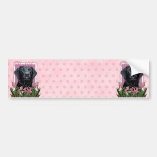 Thank You - Labrador - Black - Gage Bumper Sticker