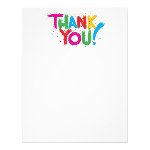 professional thank you letter