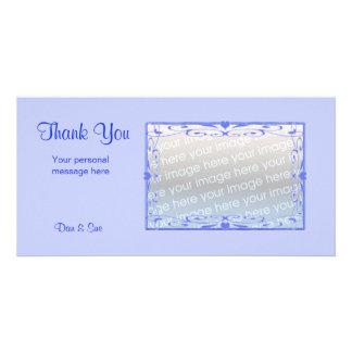 Thank You Light Blue Card