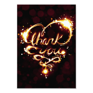 thank you light card