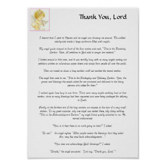 Thank You, Lord Poster
