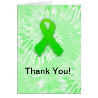 Thank You Lyme Awareness Notecards Card
