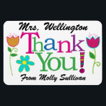 "Thank You Magnet<br><div class=""desc"">This is cool enough to be stuck on the best refrigerators ... : ) ... and when it is, it&#39;s a daily memory. Zazzle offers quantity discounts ... : ) Have fun with it. Make it your own. That&#39;s what Zazzle is all about. Enjoy, thank you, and please visit often,...</div>"