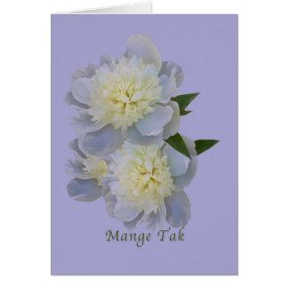 Thank You, Mange Tak, Danish Card