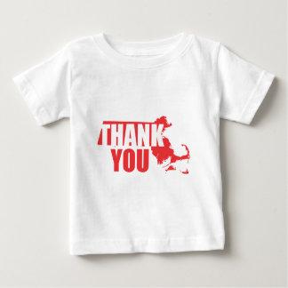 Thank You Massachusetts Baby T-Shirt