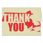 Thank You Massachusetts Greeting Cards
