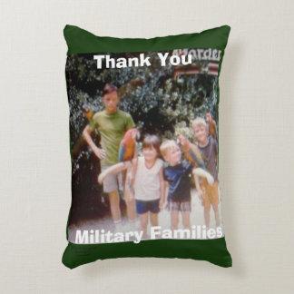 THANK YOU  MILITARY FAMILIES THROW PILLOW