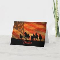 Thank You Military Veteran Card