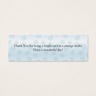 Thank You Mini Business Card
