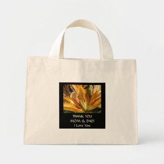 Thank You Mom & Dad! tote bag gifts Wedding Party