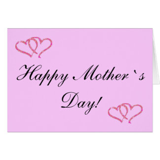 Thank you MOM! Greeting Card