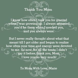 75+ I Love You Mommy Poem - love quotes