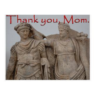 Thank you, Mom. Postcard