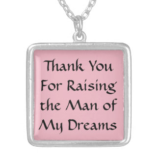 Thank You Mother-in-law gift necklace