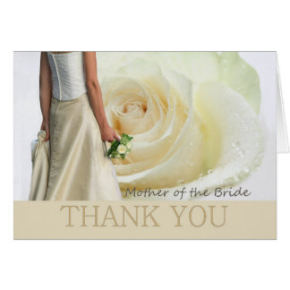 Thank You Mother of the Bride Card