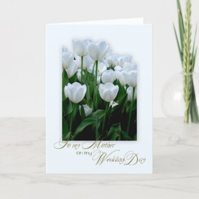 Wedding on Thank You Mother On My Wedding Day Cards From Zazzle Com