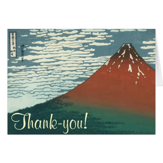 Thank you Mount Fuji Card