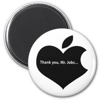 THANK YOU MR JOBS 2 INCH ROUND MAGNET