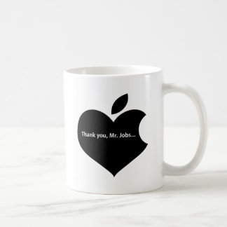 THANK YOU MR JOBS COFFEE MUG