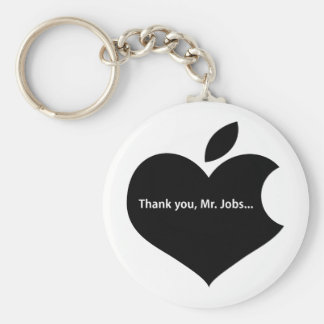 THANK YOU MR JOBS KEYCHAIN