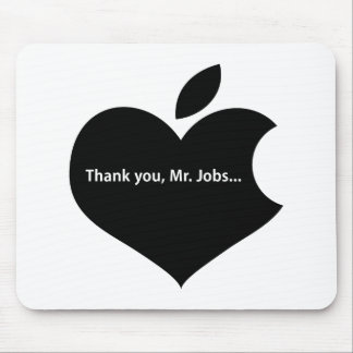 THANK YOU MR JOBS MOUSE PAD