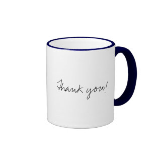 Thank you! coffee mugs