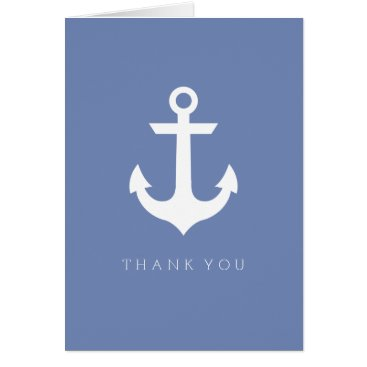 Beach Themed Thank You | Nautical Anchor Card