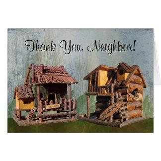 Thank You, Neighbor Card
