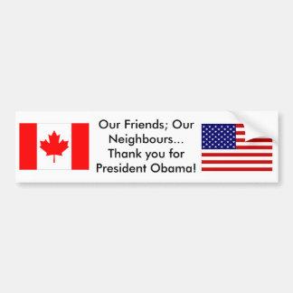 Thank you Neighbours Bumper Sticker