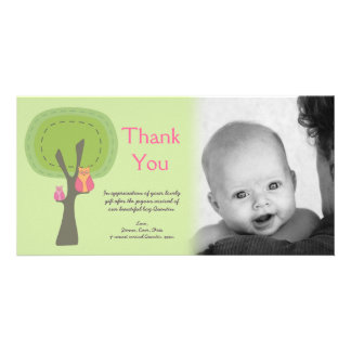 Thank You New Baby Arrival Gift Photocard Photo Card