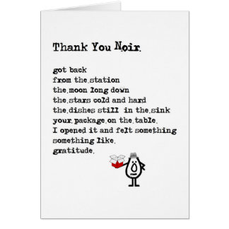 Thank You Poem Greeting Cards Zazzle