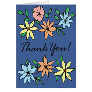 Thank You Note Card #1