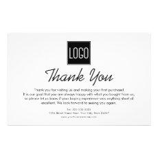 Thank You Note | Custom Logo Stationery