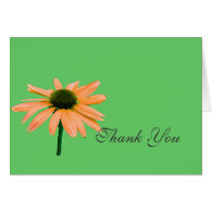 thank you note,daisy flowers greeting card