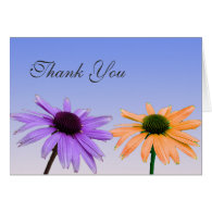 thank you note,daisy flowers greeting cards