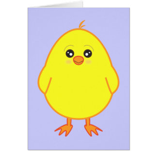 Thank-You Note Easter Chick Greeting Cards