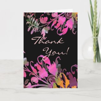 Thank You Note or Greetings Cards Enchanting card