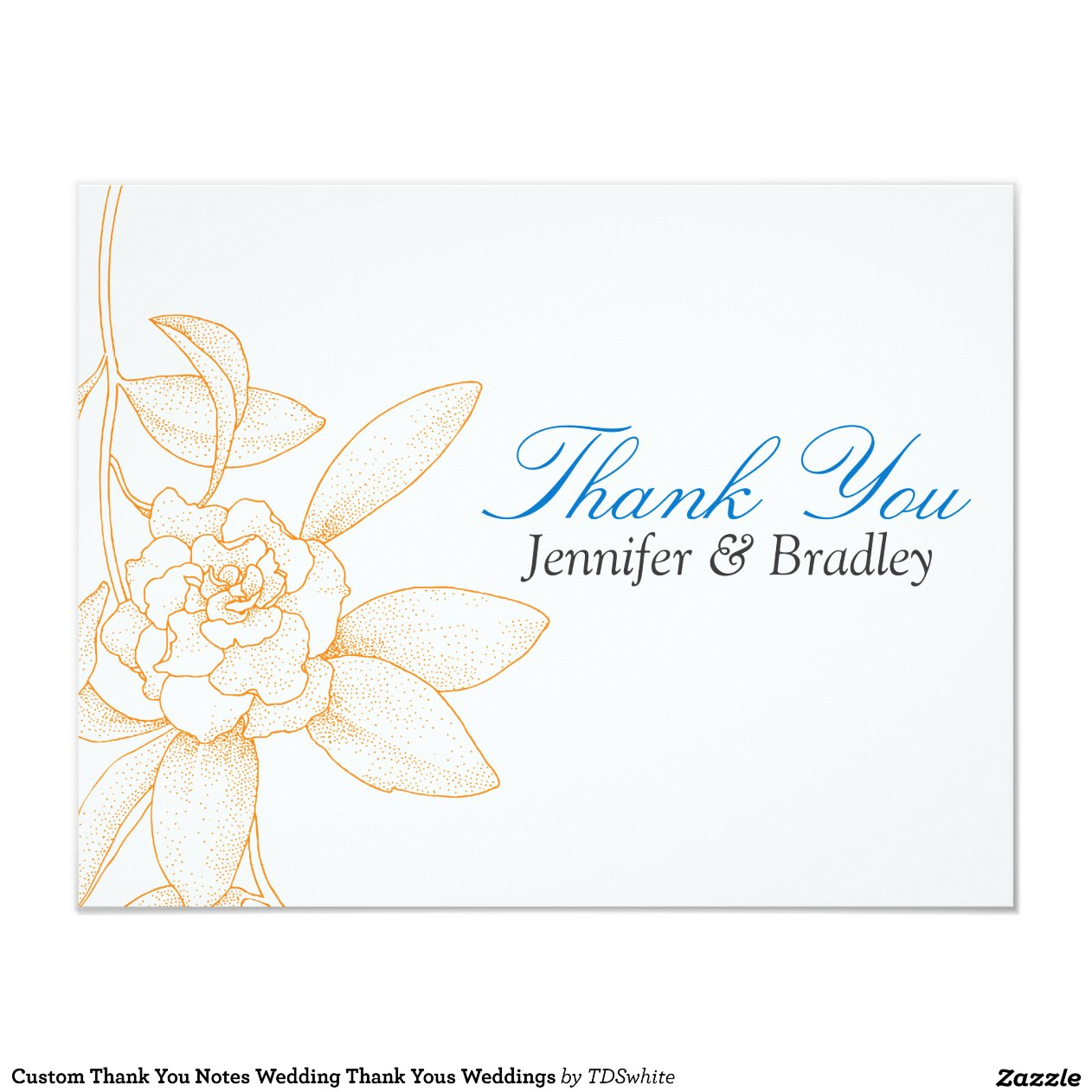 thank you notes after the wedding 4 25x5 5 paper